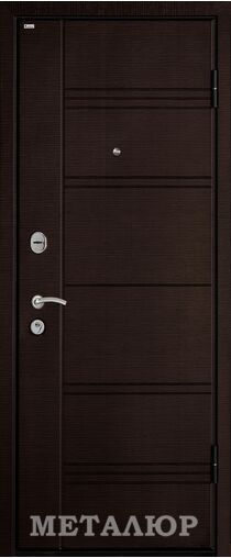 Металлическая входная дверь МеталЮр М17 (17Х)