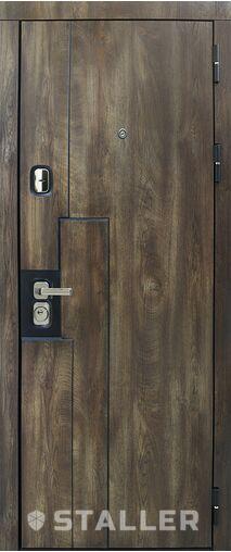 Металлическая входная дверь Сталлер КРОНА