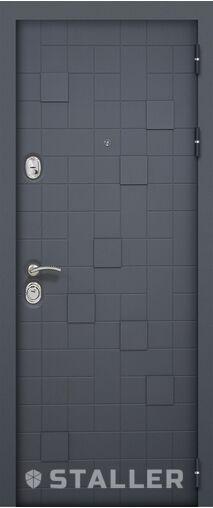 Металлическая входная дверь Сталлер МЕТРО 2