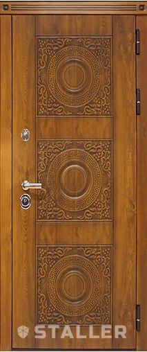 Металлическая входная дверь Сталлер МИЛАНО МЕТ