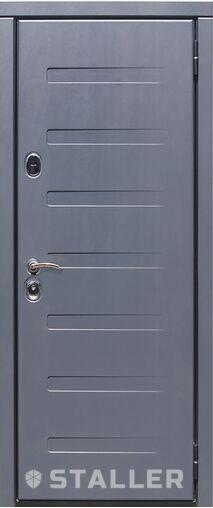 Металлическая входная дверь Сталлер ПИАНО