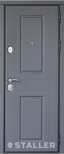 Металлическая входная дверь Сталлер РАФФИНАТО